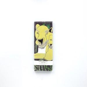 「タイガーライオン」パッケージ  エクストラチョコレート 40g