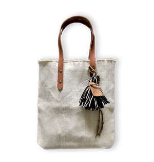 SALE! cotton fringe totebag