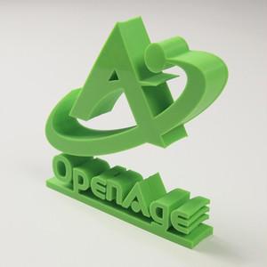 【オフィスインテリア】株式会社オープンエイジ総合研究所立体スタンド