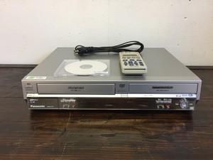【中古品】panasonic/パナソニック DVDレコーダー VHSビデオ一体型 DIGA  DMR-E75V-S