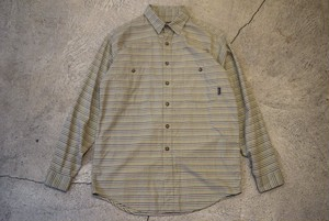USED 90s patagonia Pima Cotton flannel L/S shirt -Medium S0525