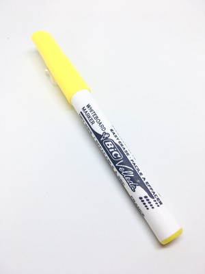 Bic Velleda 1741 Yellow