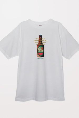 奥入瀬ビール 2013アジアカップ金賞Tシャツ(ホワイト)