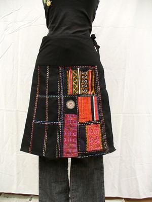 モン族ラップスカート