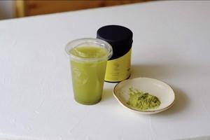 【ウイルス対策】べにふうき - 粉末煎茶 - 茶缶100g