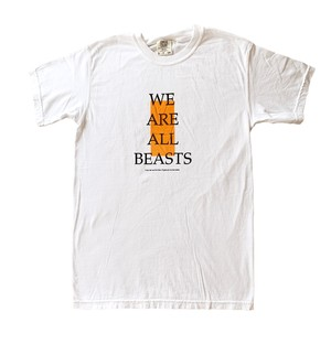 "ONE OF A KIND ""BEASTS"" COMFORT COROLS -White × Orange-"
