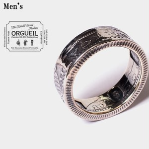 ORGUEIL / オルゲイユ   Coin Ring OR-7023A 【Men's】