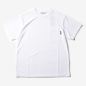 MMA Solid Pocket Tee (White)