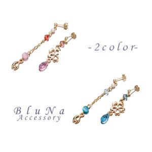 桜花ピアス-2color-