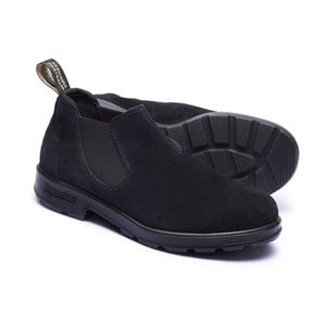 【Blundstone】 LOW-CUT BS1605 Black suede