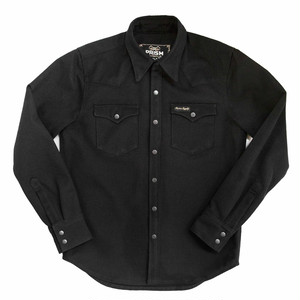 "Prism Supply co. ""Western Work Shirt"" - Black Canvas"