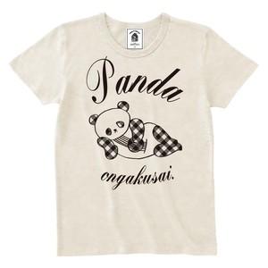 チェックTシャツ(ホワイト)