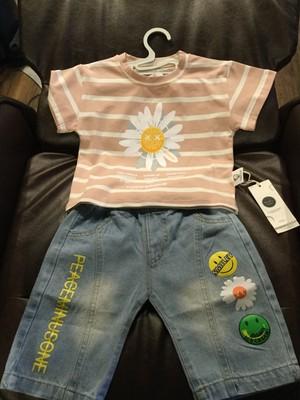 子供服 セットアップ 子供 Tシャツ