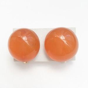 amber earring[e-784]