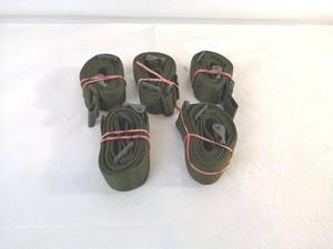 【米軍放出品】スリング ショルダーストラップ コンバットスリング 全長120㎝ 5本セット(60)