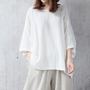 【トップス】気質アップ合わせやすい中袖ブラウス・シャツ16506159