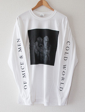 ※Restock【OF MICE & MEN】Cold World Long Sleeve (White)