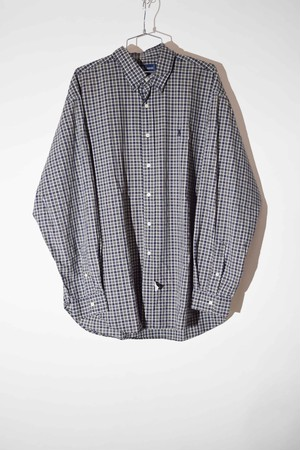 【XLサイズ】 RALPH LAUREN ラルフローレン BD CHECK SHIRTS チェックシャツ DARKGREEN ダークグリーン