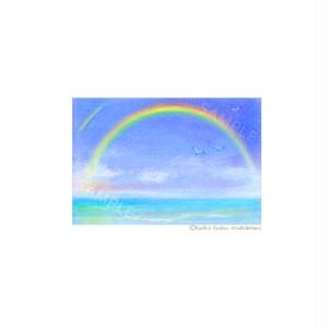 【選べるポストカード3枚セット】No.89 虹