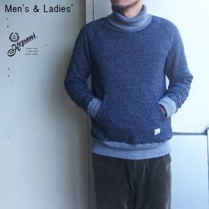 【残りレディースのみ】 Kepani タートルネックスウェット Manchester-Ⅲ / Turtleneck KP1601MS (D.NAVY) 【Men's / Ladies'】