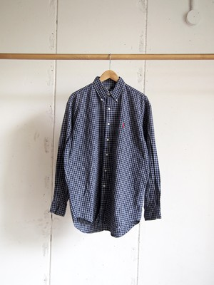 USED / Polo by Ralph Lauren, Check shirts