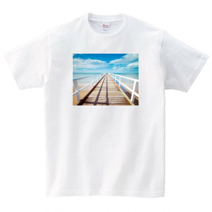 桟橋 Tシャツ