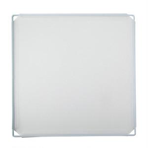 簡易 卓上 パーテーション 35cm×35cm 仕切りブース 衝立 間仕切り スタンド (白)