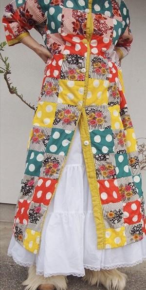 VINATGE PATCHWORK DRESS