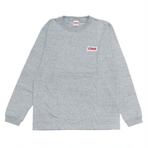 """FGMAN"" Embroidered L/S Mix Gray"