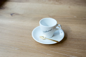 Welcome COFFEE Cup & Saucer / デミタスカップ(3onz)ソーサー