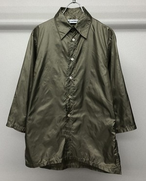 1990s SAINT LAURENT BY HEDI SLIMANE NYLON SHIRT