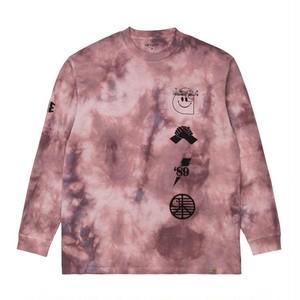 【Carhartt WIP】 L/S TAB T-SHIRT - Chromo, Malaga / Black カーハート 長袖Tシャツ タイダイ染め