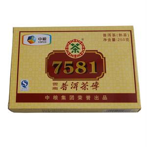 中茶磚茶7581<2011年/熟・250g>