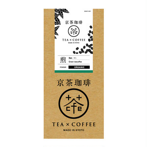 【京茶珈琲】有機煎(せん)/箱/粉/100g(1AA220007)