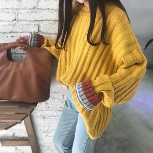 【お取り寄せ商品】ボトミングセーター 7633
