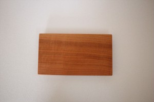 松下由典|木のトレー長方形(S)桜材