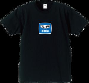 タイトロニクス ロゴ Tシャツ ヴィンテージブラック