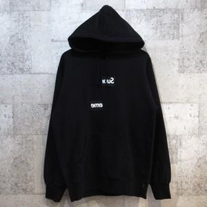 SUPREME × CDG SHIRT 18AW Split Box Logo Hooded Sweatshirt
