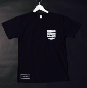 POCKET.Tee (JFK-004) - Black