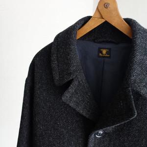 classic artisanal woolcoat / d.grey( x black)