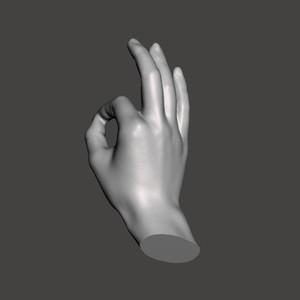 手(つまむ・OK)