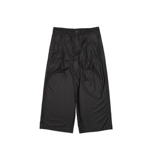 Silky Tied Wide Pants ワイドパンツ ブラック