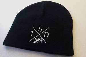 ONESHOTDOWN Xデザイン ニット帽