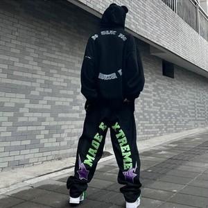 【ボトムス】ストリート系オーバーサイズファッションデニムパンツ48110926