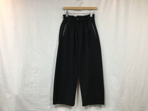 """CURLY""""AZTEC WIDE TROUSERS BLACK"""""""