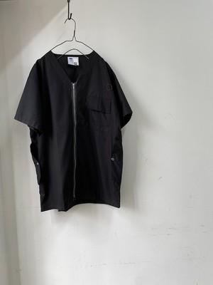 "DA'S,Customized / Medical Shirt ""Dunn"" /black(ダズのメディカルシャツ・ブラック)"