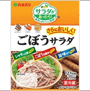カネハツ ミニ ごぼうサラダ1箱〔85g×10入り〕