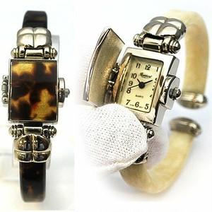 ラポールウォッチ Rapport 腕時計 蓋付きバングルウォッチ ラポール デコ トールペイント