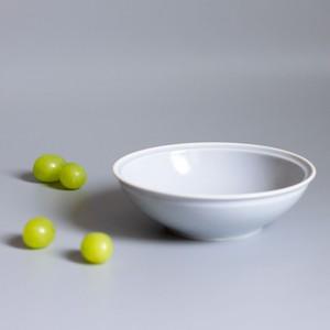 「シエル Ciel」きほんのうつわ 取り皿 とんすい 直径約14×深さ4.2cm ライトグレー 美濃焼 520111