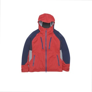 GORE-TEX CONTRASTED PARKA - RED